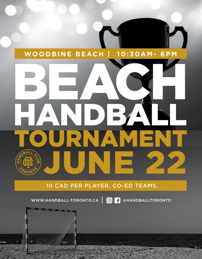Handball Club Toronto - Beach Handball Tournament 20190622