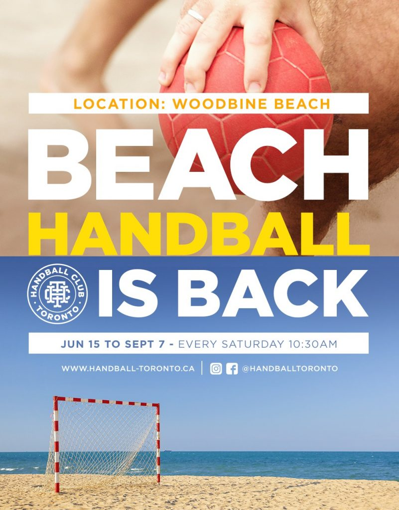 Handball Club Toronto - Beach Handball pickup sessions