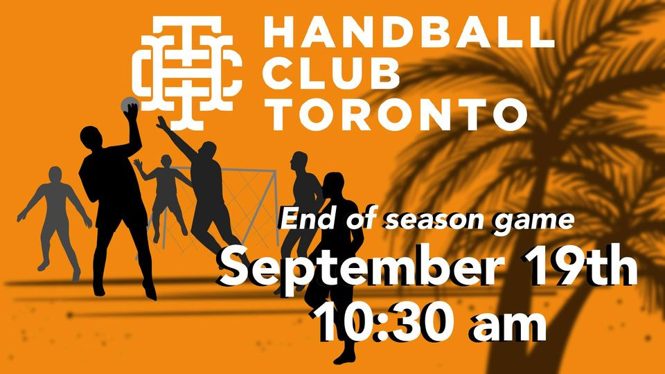 Beach Handball - End of season image